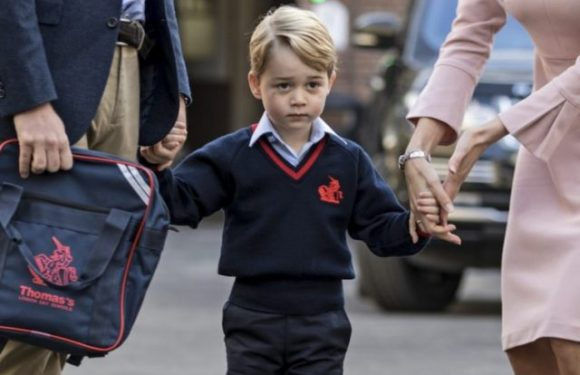 Where Does Prince George Go to School and What's on the Lunch Menu?