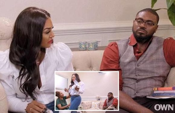 Woman storms out of television interview after it's revealed her husband slept with more than 50 women throughout their marriage… and 341 during his life