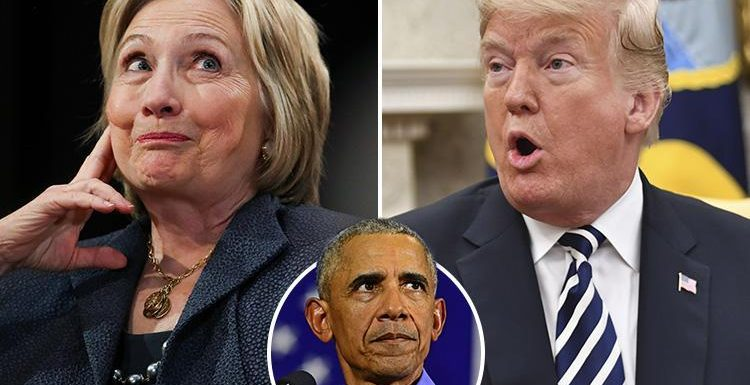 Stormy Daniels claims she overheard Hillary Clinton call Donald Trump to discuss 'their plan' as she took on Obama for presidency