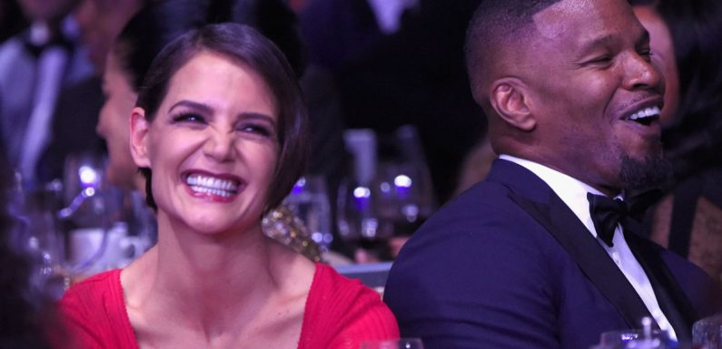 Katie Holmes & Jamie Foxx Work Out Together In Atlanta