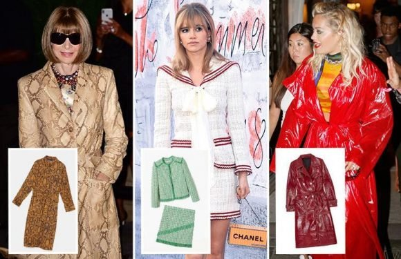 From bold earrings to catwalk copies of the Queen's iconic style, here's our style bible for top autumn trends