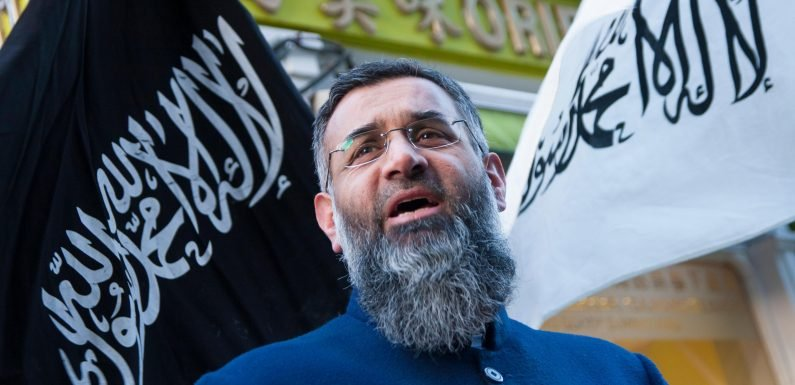 Hate preacher Anjem Choudary vows to carry on ranting after his release from prison and sparks security fears