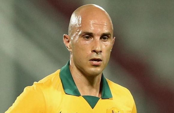 Former Lazio and Australia star Mark Bresciano becomes a cannabis farmer