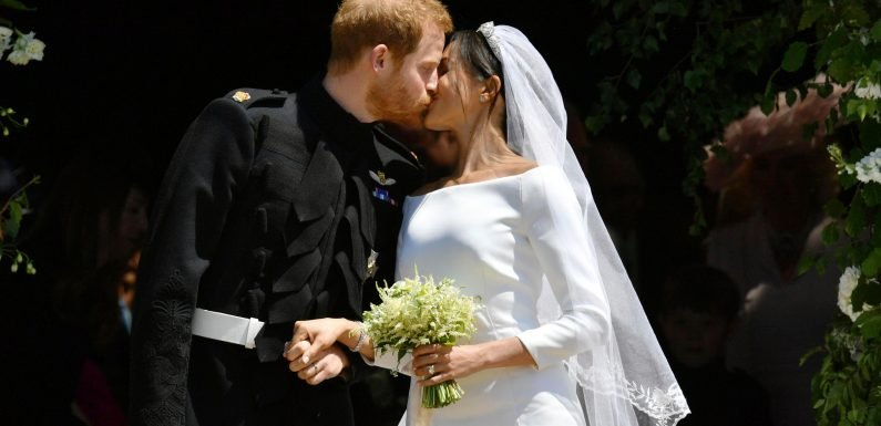 Meghan Markle is reunited with her wedding dress as she reflects on big day in new ITV documentary