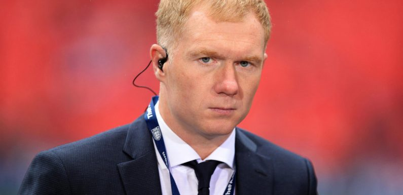 Manchester United legend Paul Scholes admits he hates 'slagging off' club in role as TV pundit