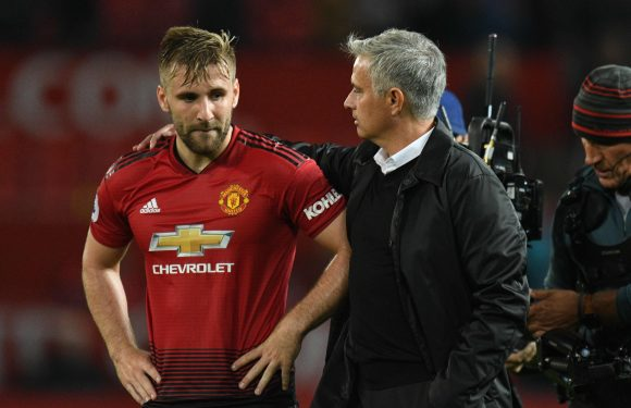 Luke Shaw will return for Manchester United's Champions League clash with Young Boys, reveals Jose Mourinho