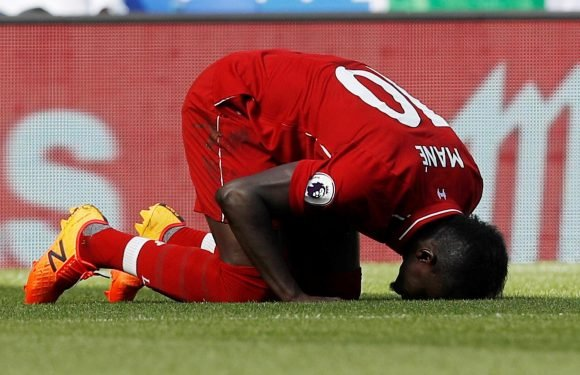 Liverpool star Sadio Mane filmed cleaning toilets of local mosque after win over Leicester