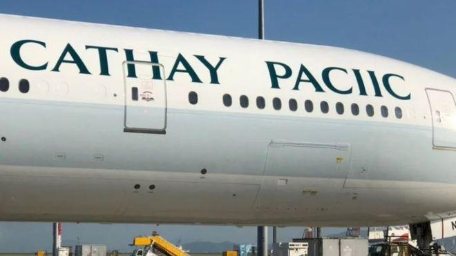 Cathay Pacific airline humiliated after spelling its own name wrong on new passenger plane