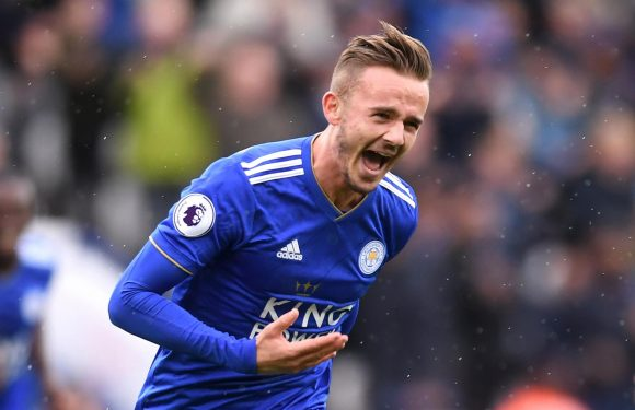Leicester 3 Huddersfield 1: James Maddison and Jamie Vardy find the net as hapless Terriers still await first Premier League win of the season