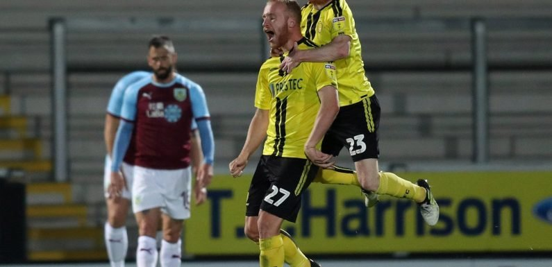 Burton Albion 2 Burnley 1: Jamie Allen and Liam Boyce strike as League One outfit stun rivals with comeback victory