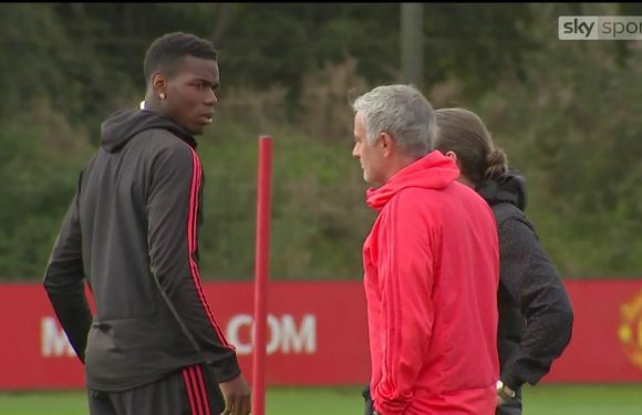Jose Mourinho's row with Paul Pogba was over Instagram post