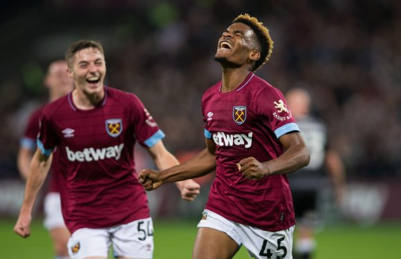 West Ham 8 Macclesfield 0: Hammers record biggest win since 1983 to progress in Carabao Cup