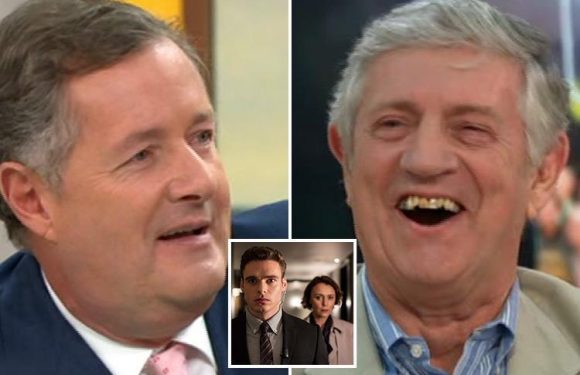 Cheeky Piers Morgan asks Margaret Thatcher's bodyguard Barry Strevens if he ever slept with her, just like Richard Madden in new drama Bodyguard