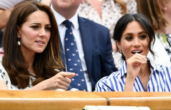 Meghan Markle & Kate Middleton Must Keep Chins Parallel To The Floor At All Times