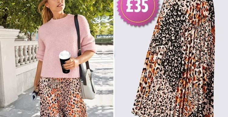 This £35 leopard print skirt from M&S has been sending shoppers wild… and it keeps selling out within seconds