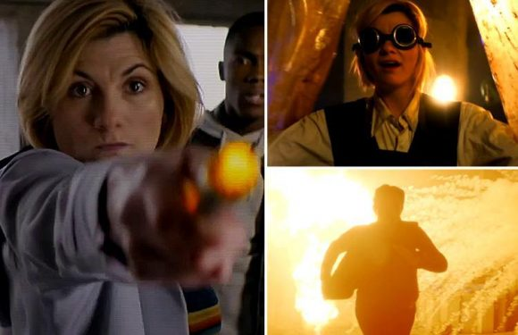 Explosive new Doctor Who trailer shows Jodie Whittaker running for her life in epic gun battle