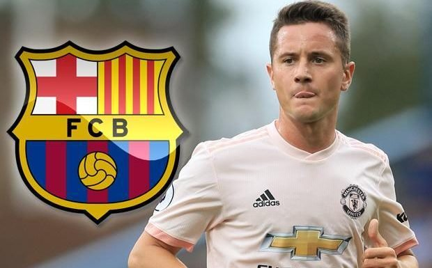 Manchester United star Ander Herrera wanted by Barcelona again with contract extension still not sealed