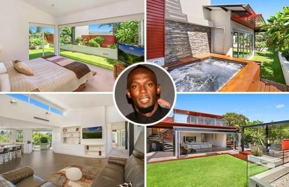 Inside Usain Bolt's luxury £1.45m Oz penthouse apartment sprint legend calls home as he tries to start career in football