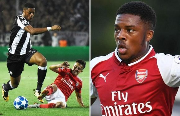 Chuba Akpom was once Arsenal's most exciting prodigy but is now fighting to start for PAOK against Chelsea in the Europa League