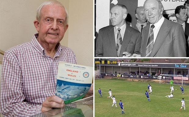 Halesowen Town owner Colin Brookes walked out on Matt Busby and snubbed Bill Shankly