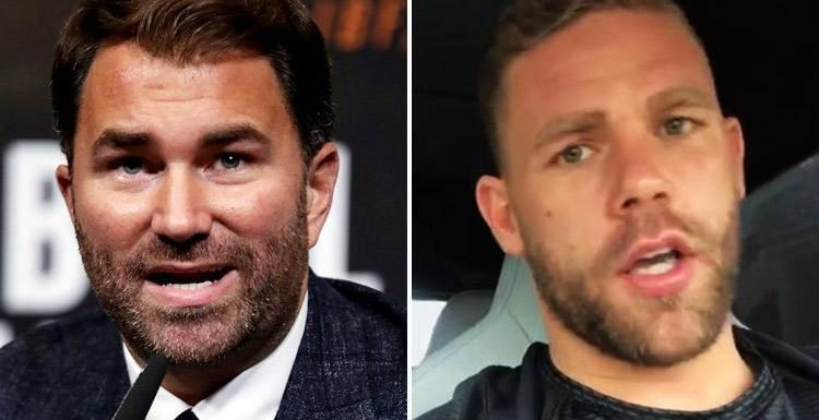 Billy Joe Saunders WILL still face Demetrius Andrade even if he loses boxing licence by applying for one abroad