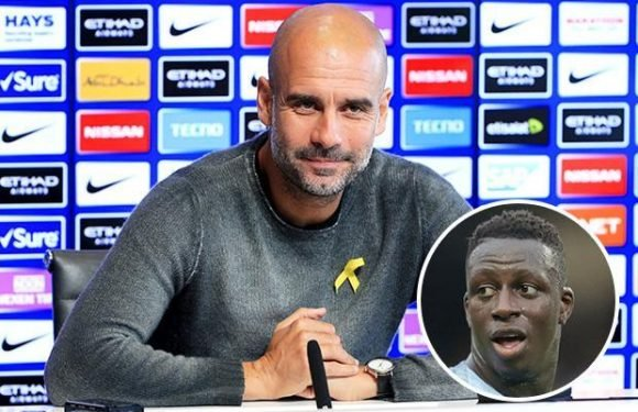 Man City boss Pep Guardiola launches stinging attack on Benjamin Mendy for turning up late for treatment on foot injury to watch Anthony Joshua fight