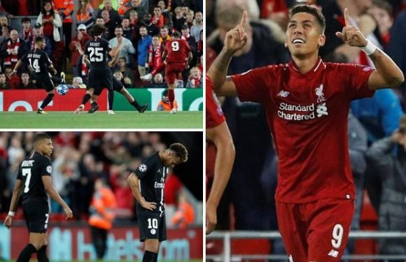 Liverpool 3 PSG 2: Roberto Firmino scores dramatic winner after Kylian Mbappe's late equaliser