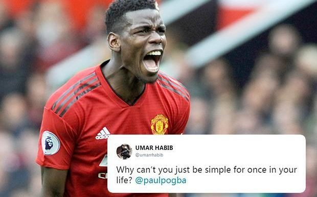 Paul Pogba slammed by Manchester United fans after mess-up in midfield leads to Wolves equaliser