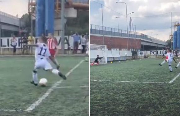 Cristiano Jr scores AGAIN for Juventus Under-9s as dad struggles to find net for first-team in Serie A