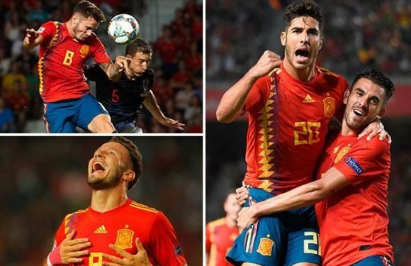 Spain 6 Croatia 0: Marco Asensio shines brightest as Spain run riot against World Cup finalists to maintain 100 per cent Nations League record