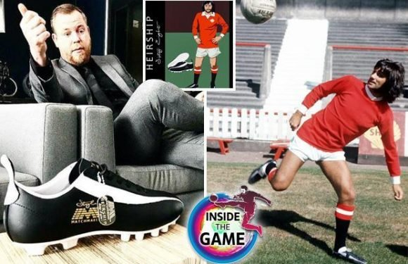 Stylo Matchmakers: The boots worn by Pele and George Best are making a comeback