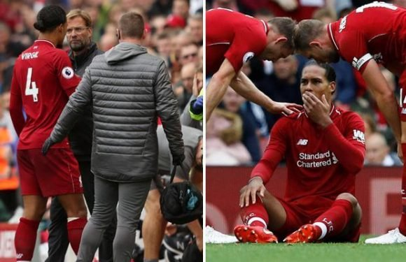 Virgil Van Dijk injury scare as Liverpool ace limps off injured and substituted against Southampton
