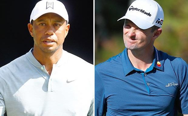 Tiger Woods tied with Justin Rose halfway through Tour Championship shoot-out