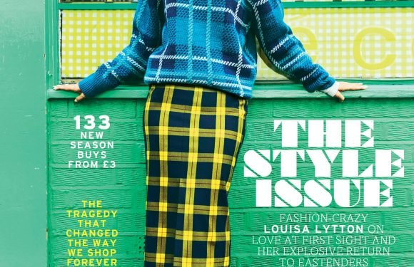 As she prepares for her explosive return to EastEnders, Louisa Lytton is thecoverof this weekend's Fabulous Style Issue
