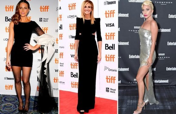 Kate Beckinsale, Julia Roberts and Lady Gaga dazzle as they hit the red carpet at the Toronto International Film Festival