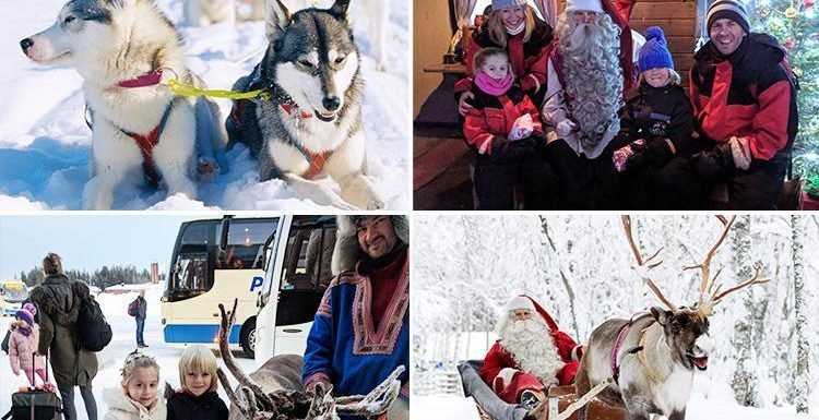 Take your family on the trip of a lifetime to meet Father Christmas in Lapland