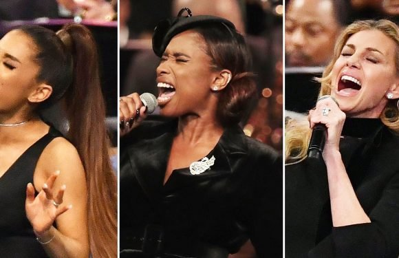 Watch Ariana Grande and More Perform at Aretha Franklin's Funeral