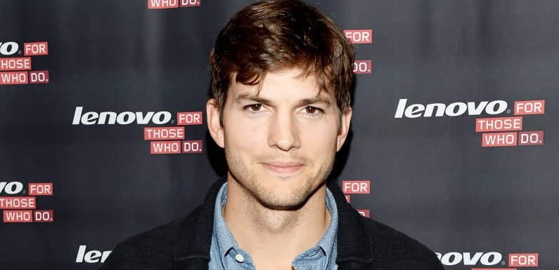Ashton Kutcher Hit a Man With His Car — Then Took a Photo With Him