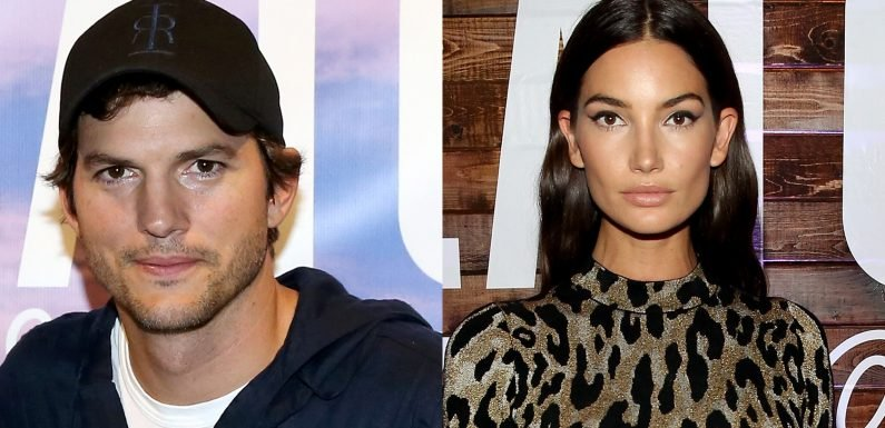 Ashton Kutcher & Lily Aldridge Attend WeWork Creator Awards in Nashville!