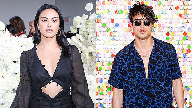 'Riverdale's Camila Mendes & Charles Melton Caught Kissing On Movie Date — New Romance?