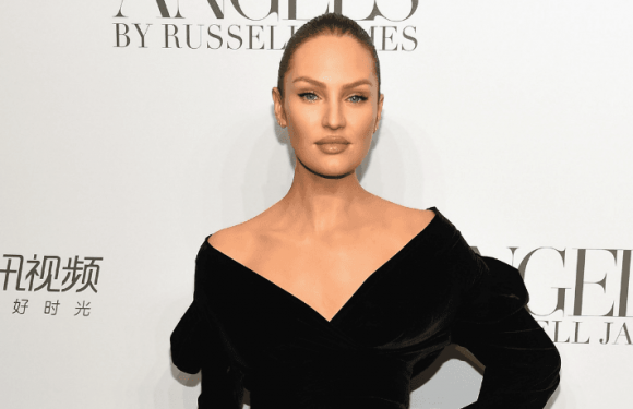 Victoria's Secret Model Candice Swanepoel Poses Nude In Full Body Black-And-White Pic On Instagram