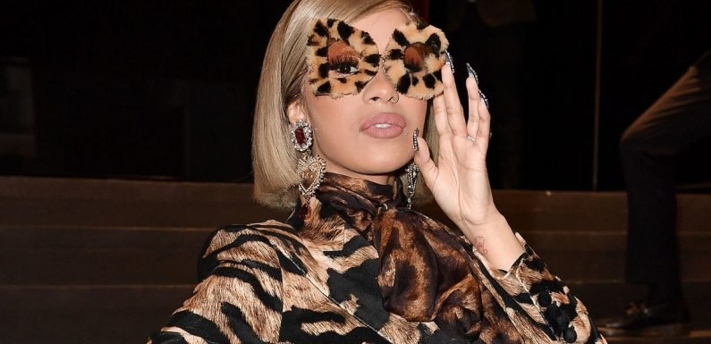 Cardi B Is Tipsy in Milan, Channeling 'Fran Drescher' Style a la Dolce and Gabbana