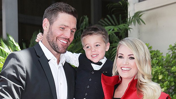 Carrie Underwood Gives Rare Glimpse Of Son, 3, As He Joins Her At Walk Of Fame Ceremony