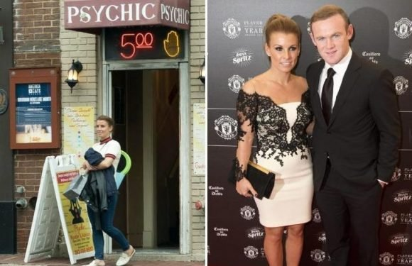 Coleen Rooney 'faces more trouble in marriage to Wayne' according to psychic who she visited in US