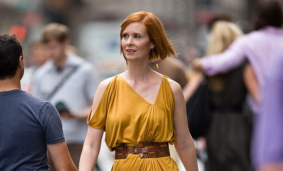 Cynthia Nixon Gets Confused For 'Sex & The City's' Miranda In New Campaign Ad & It's Hilarious