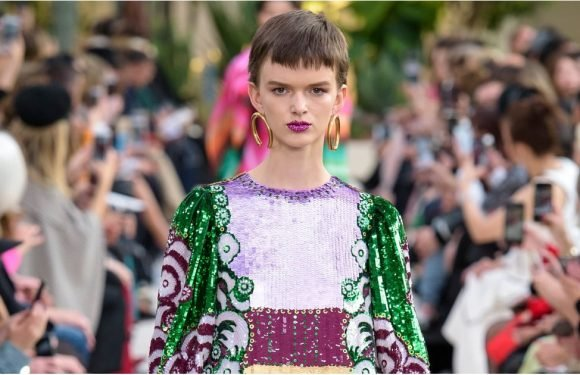 Valentino's Spring Dresses Are So Gorgeous, You Might Tear Up a Bit
