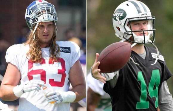 Giants lineman has nothing but praise for ex-mate Sam Darnold