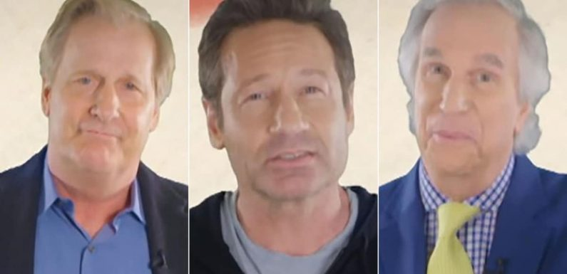 Henry Winkler, Jeff Daniels, David Duchovny and Other Stars Are Terrible at Giving Life Advice