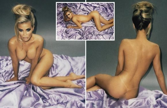 Former Baywatch star Carmen Electra rolls back the years in stunning Playboy shoot