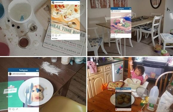 Parents reveal the messy truth behind THOSE perfect Instagram shots